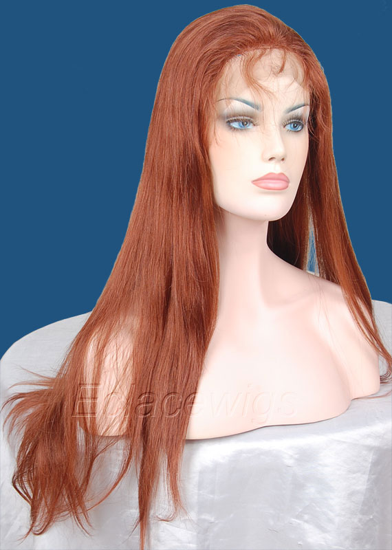 #33 Human Hair Full Lace Wigs Hair Factory