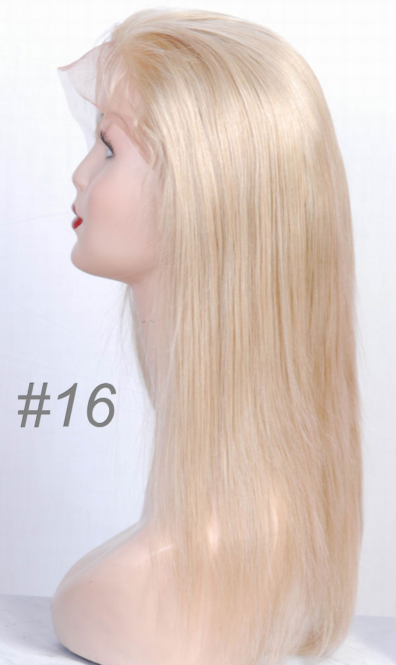 #16 lace wig,human hair wigs professional factory