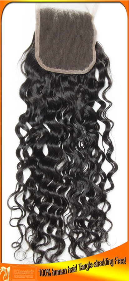 Wholesale Indian Human Hair Lace Closures Best Factory Price