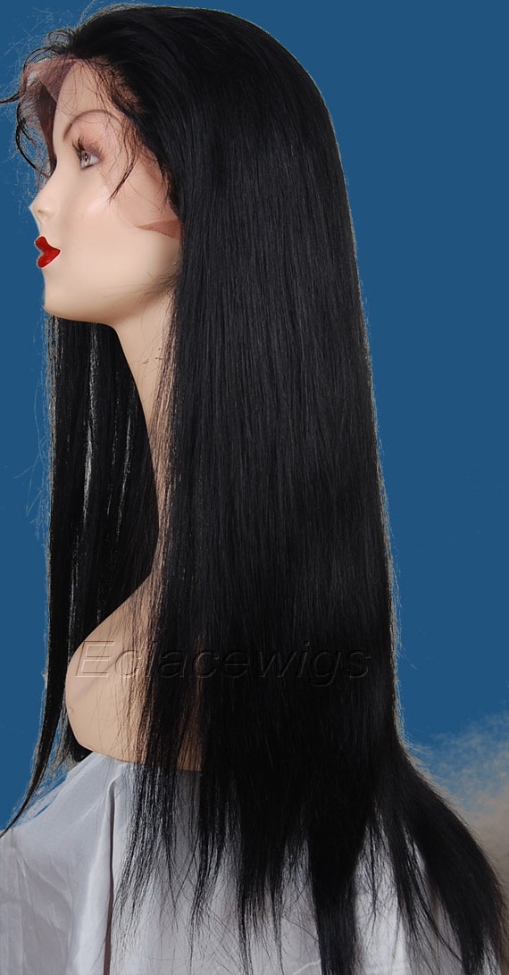 Straight   Human Hair Wigs Factory