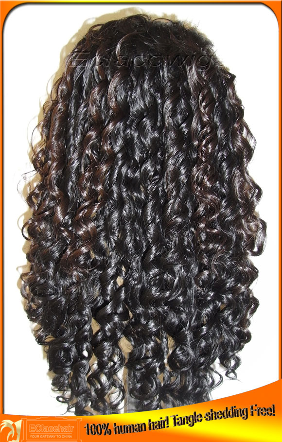 Spiral Curl Lace Front Wigs Human Hair