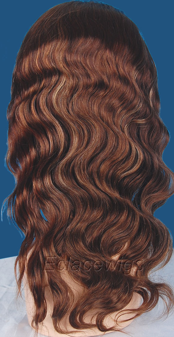 Highlight Full Lace Wigs Human Hair