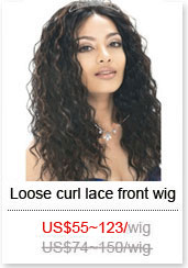 loose curl wig style