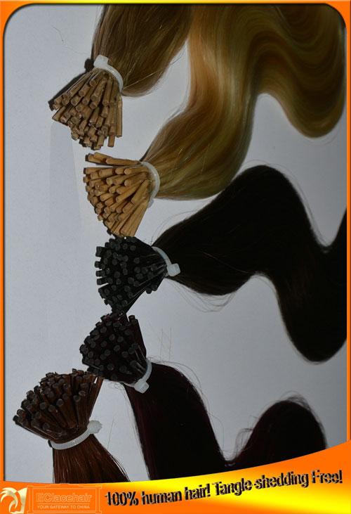 Wholesale 100 Virgin Brazilian Pre Tipped Human Hair Extensions