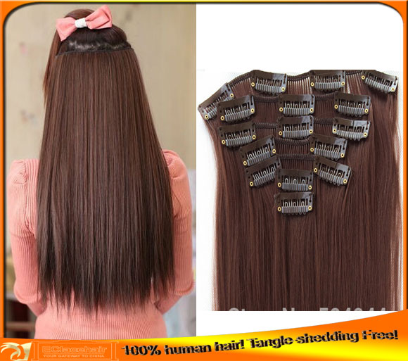 Indian Virgin Human Clip-in Hair Extensions Price