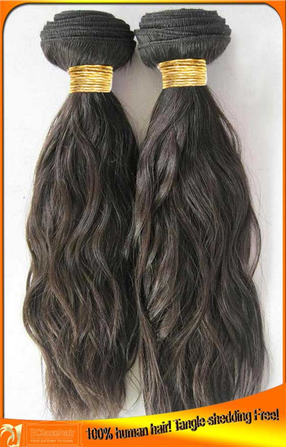 Indian Peruvian Virgin Human Hair Weave Wefts For Black Women