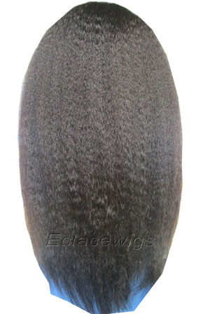Kinky Straight Full Lace Wigs Human Hair