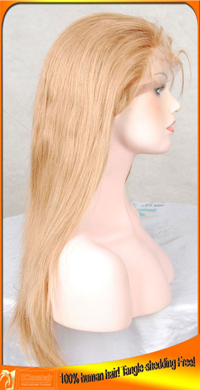 Stock #27 Full Lace Human Hair Wigs Maker