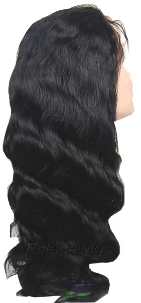Genuine brazilian full lace wig in stock