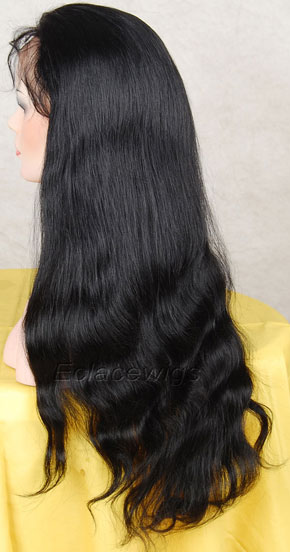 Natural straight human hair wigs,lace wigs maker
