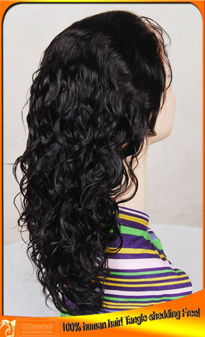 Stock 25 Curl Human Hair Wigs Seller