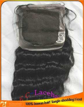 Indian hair PU top closures-wholesale