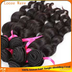 Indian Loose Wave Hair Weaves Cheap Price