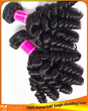 Tight curl virgin hair wefts,hair factory