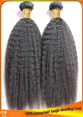 Wholesale Kinky Straight Hair Wefts,Hair Factory