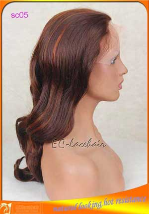 Wholesale 27/29 highlight synthetic wig