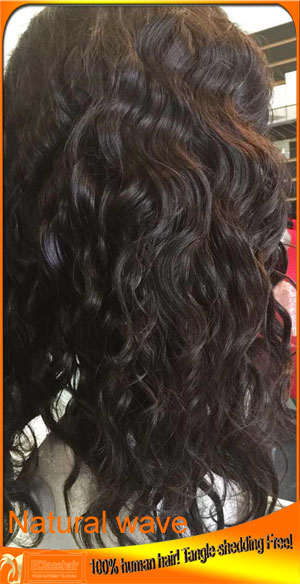 Tight Wave Human Hair Lace Wigs