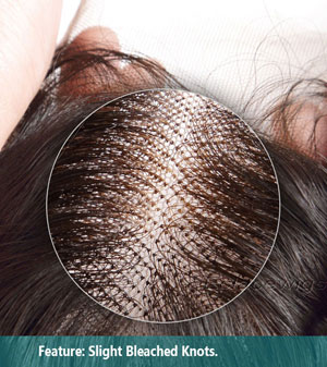 Knots of lace wigs