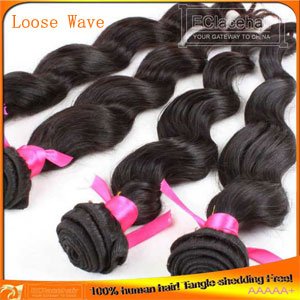 Natural wave hair weft-3pcs/lot,low hair price