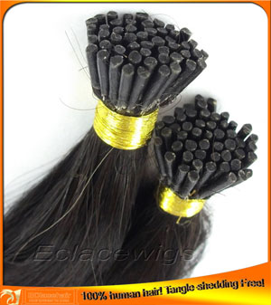 Brazilian pre-bonded hair extensions,lower price