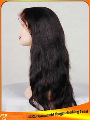 Natural Straight Lace Front Wig Human Hair