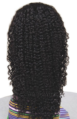 Indian Remy Hair Jerry Curl Full Lace Wigs