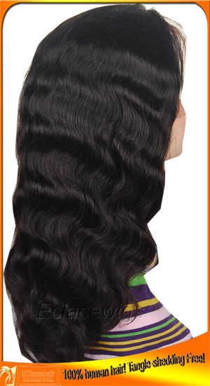 Yaki Body Wave Lace Front Wig Human Hair