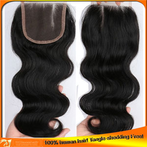 Virgin Brazilian Top Closures,Factory Price