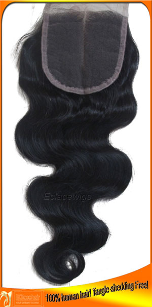 Supply Indian Hair Lace Top Closures in Stock