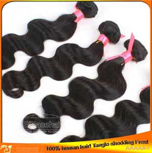 Brazilian Virgin Body Wave Human Hair Wefts,3pcs