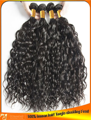 Wholesale highlight  water wave hair wefts