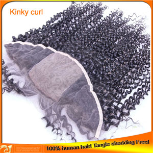 Brazilian Virgin Human Hair Silk Based Top Lace Frontal Closures
