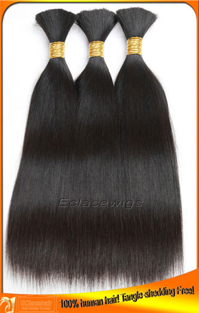 Virgin Brazilian Straight Human Hair Bulk Wholesale Price
