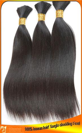 Virgin Brazilian Straight Human Hair Bulk Wholesale Price