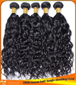 Wholesale Water Wave Virign Hair Weaves-3pcs/lot