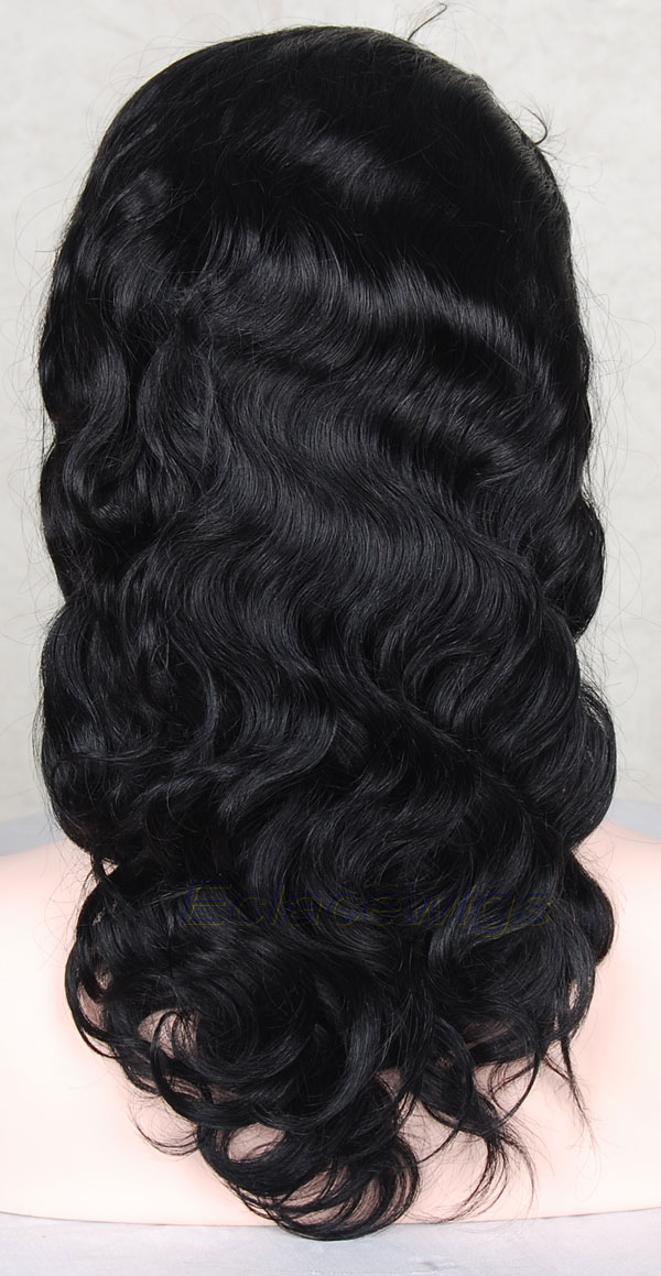 body wave full lace wig style