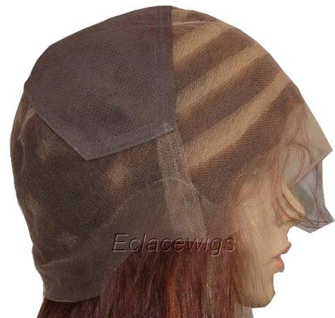 streak highlight full lace wig cap
