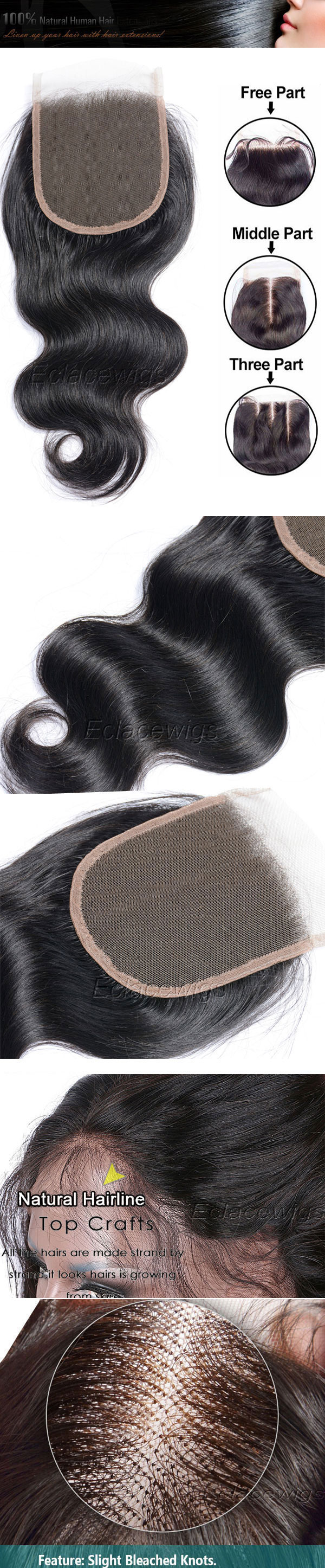 body wae lace closure