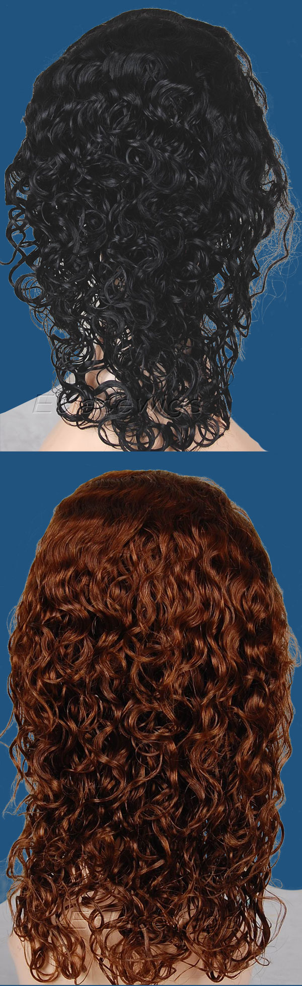 deep curl style wig