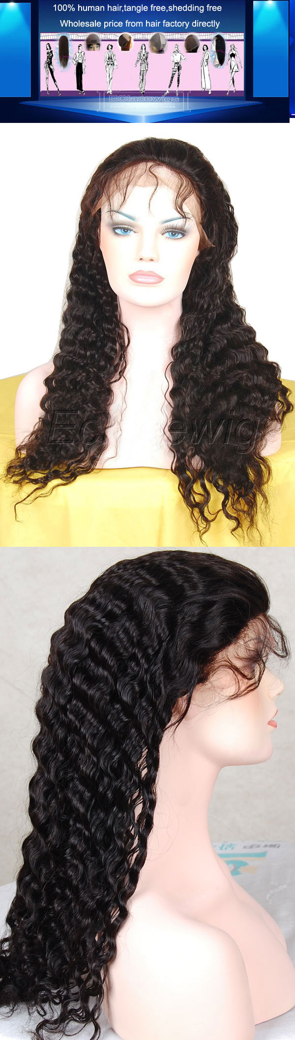 Spring afro curl wig