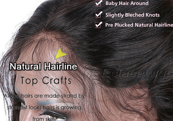 natural looking hairline of hairpieces
