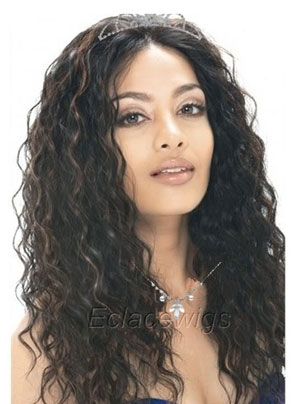loose curl lace wig