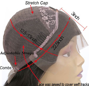 lace front wig for black women