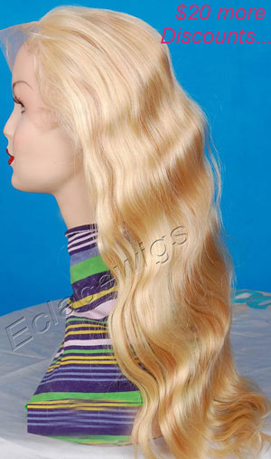color 613 lace front wig